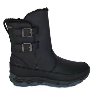 New Merrell ice cap guide mid buckle blak boots